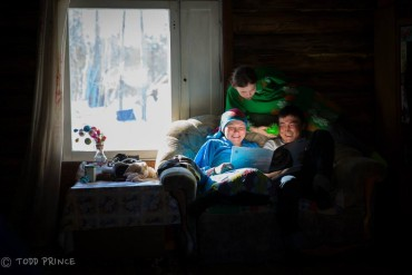 W.Siberia: A Day with a Hunter's Family