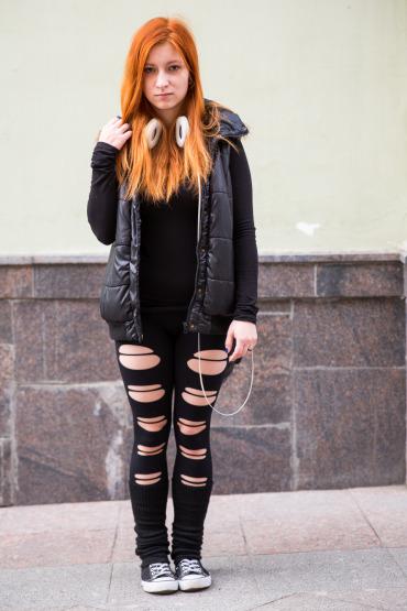 Anna: Moscow Fire Twirler