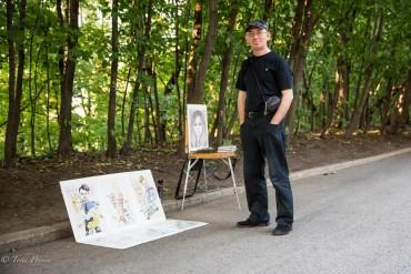 Pyotr: Engineer Turned Portrait Drawer