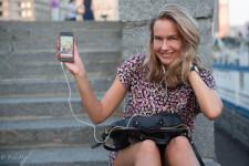 Olga: Showing Off Selfie