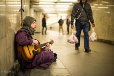 Roman- Moscow Street Musician from Minsk