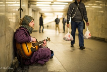 Roman: Moscow Street Musician from Minsk