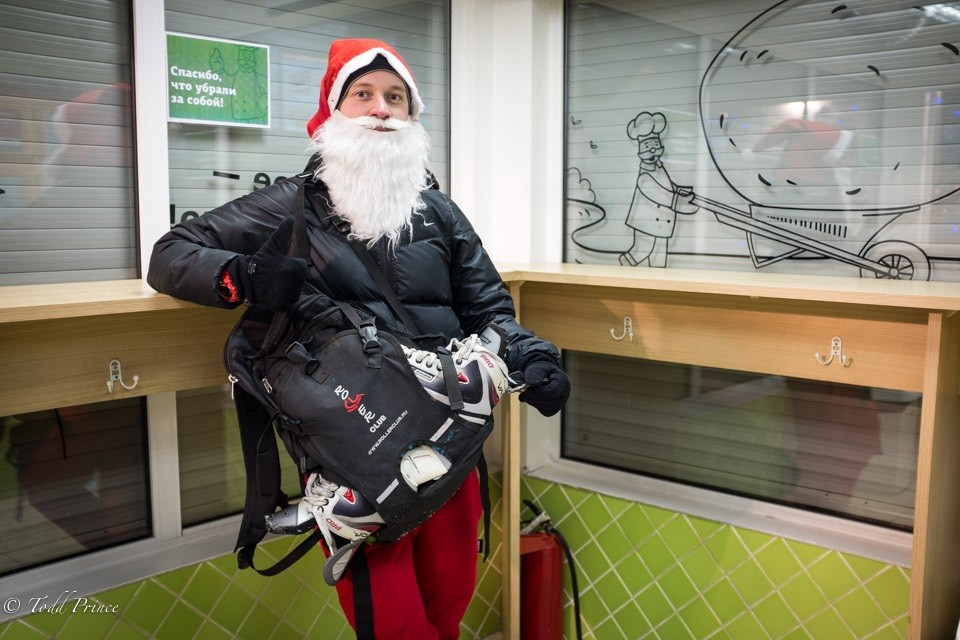 Alex: Santa and Skater