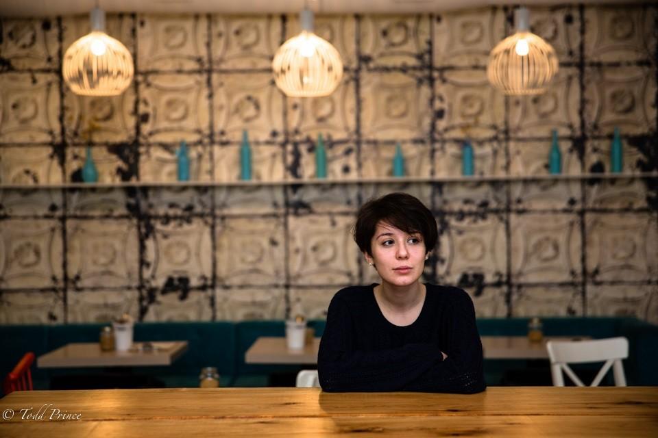Anastasia: Voronezh Cafe Social Media Director