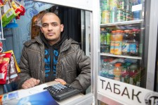 Calcutta Kiosk Owner in Moscow