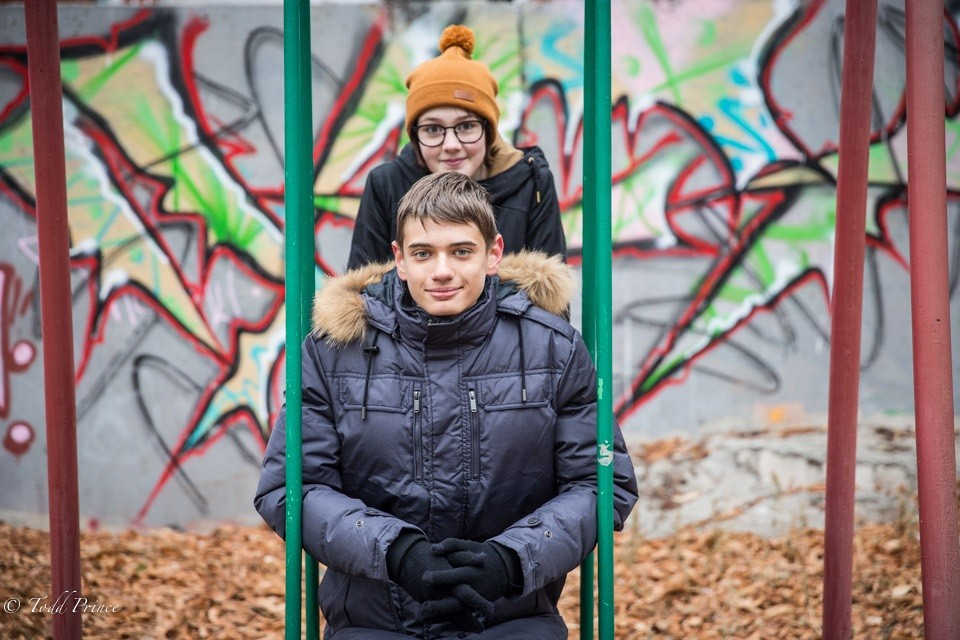 Dima & Liza: Voronezh Highschool Students