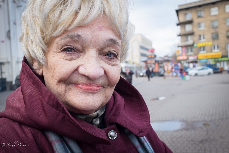 Evgeniya: Retired St. Petersburg Pensioner