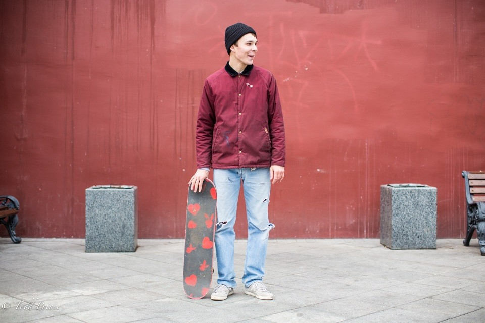 Gleb: Skateboardist (2)
