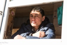Krygyz Bread Seller in Moscow