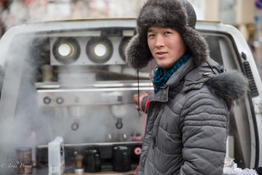 Kyrgyz Coffe Maker Who Found Islam