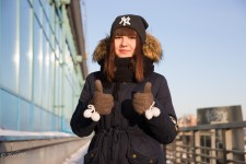 Lera- Teenager with Yankees Hat