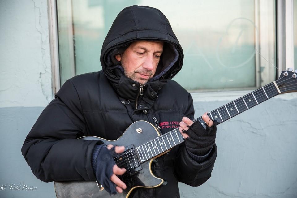 Maxim: Street Musician