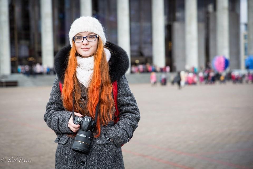 Nastya: Belarus Highschool Student