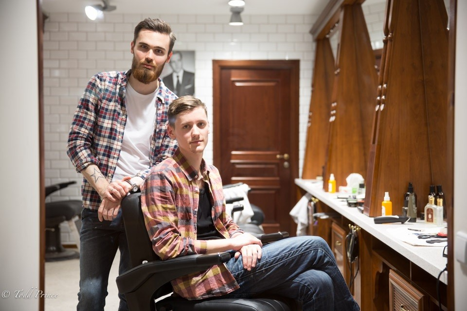 Ruslan & Evgeny: Voronezh Barbers