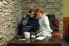 Starbucks- Girls Watching Fargo