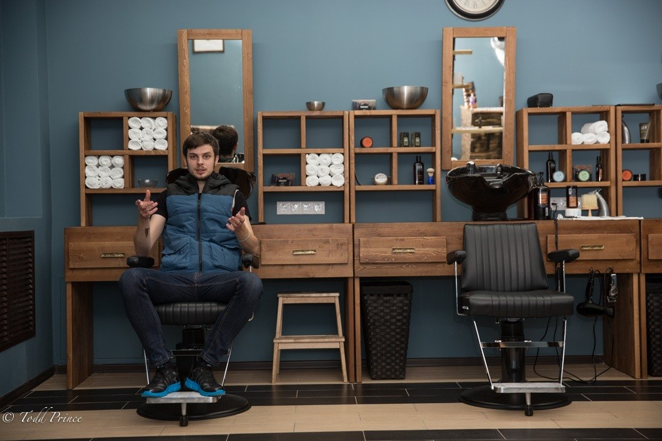 Volodya: Engineer Turned Barber