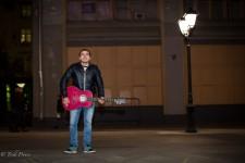 Zhenya- Street Musician Near Kremlin