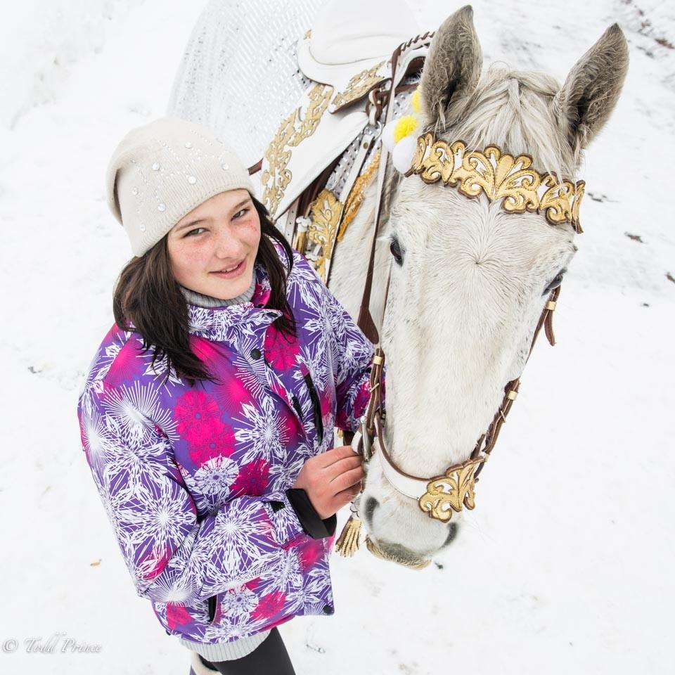 Kristina: Sakhalin Equestrian Rider