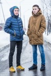 Stanislav, left, wants to become a police officer.