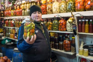Uzbek Vegetable Seller
