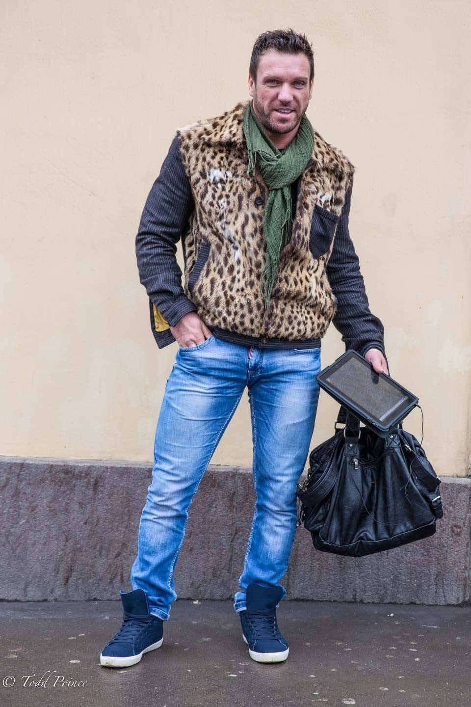 Evgeny: Dancer & Fur Clothing Owner