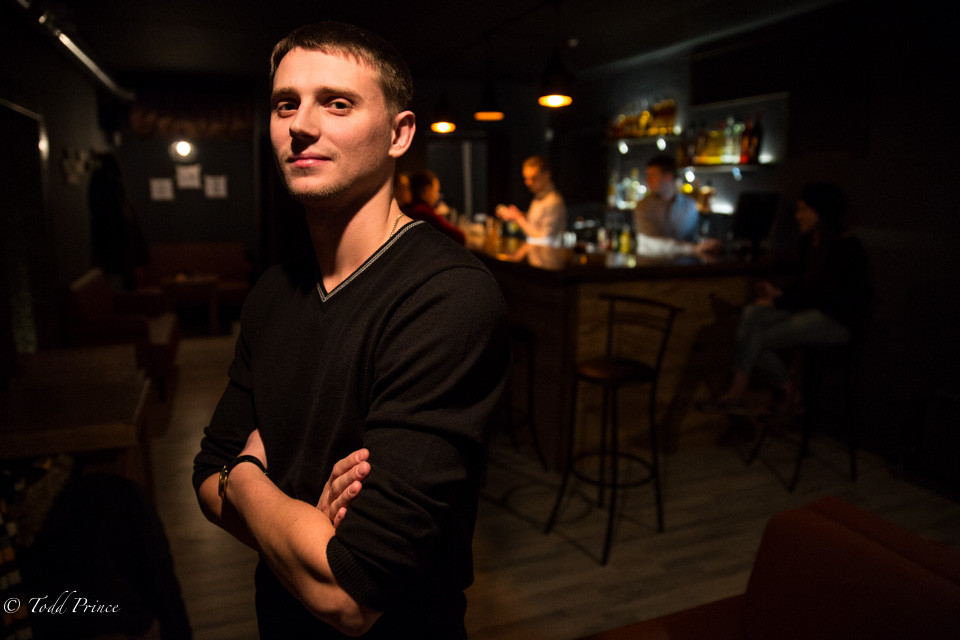 Evgeny: Khabarovsk New Bar Owner