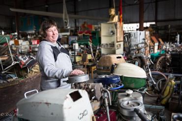 Olga: Collector of Boat Motors