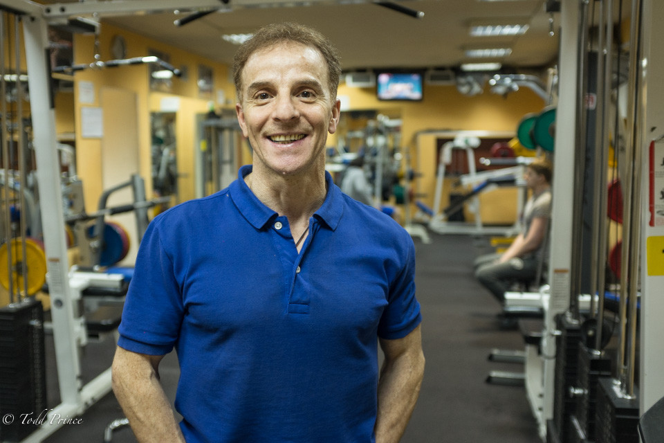 Valery: Assyrian, Veteran Gym Trainer