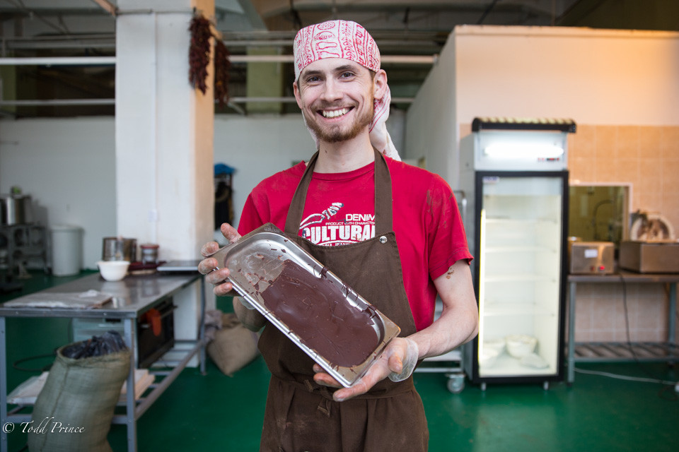 Ivan: Rap to Pottery to Chocolate