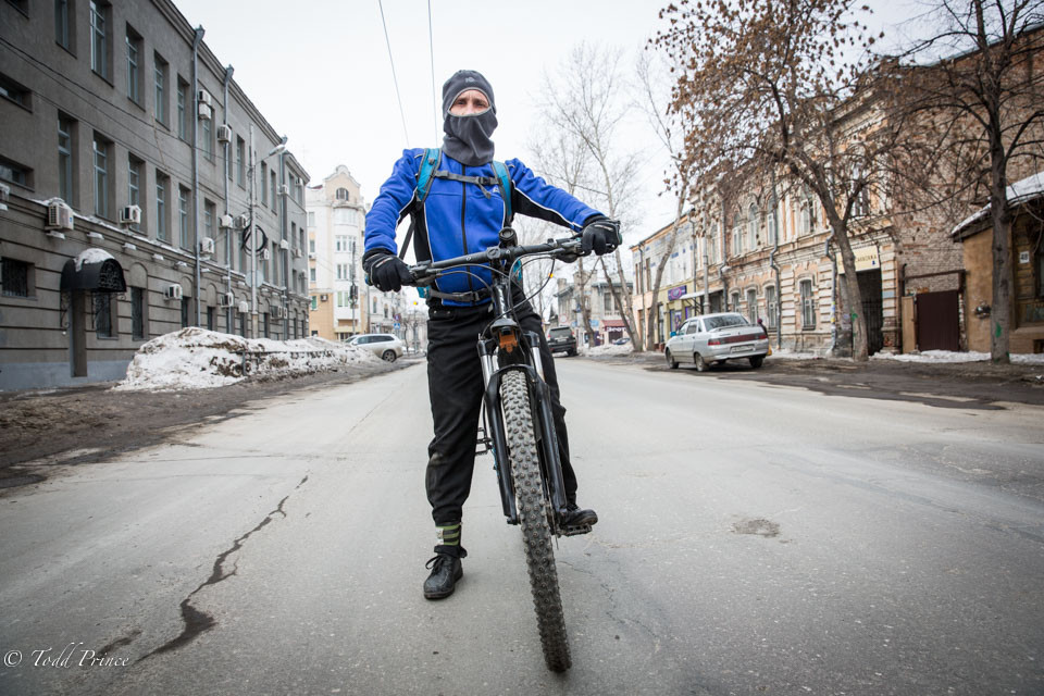Victor: Electronics Engineer, Bicyclist