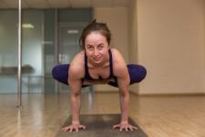 Anastasia started yoga at age 30.