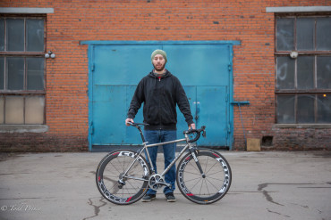 Dmitry: Titanium Biker Maker