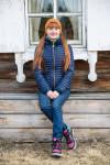 Irina is a school girl from Irkutsk in Siberia.
