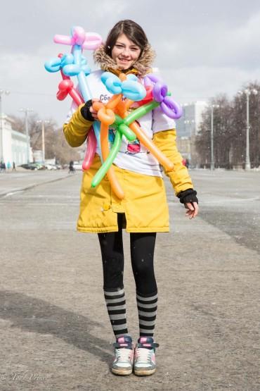 Moscow Balloon Seller