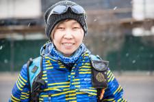 Zoya heads the Ulan-Ude bike community.