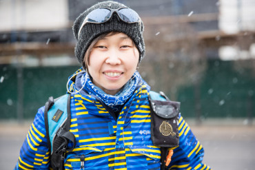 Zoya: East Siberian Bicyclist
