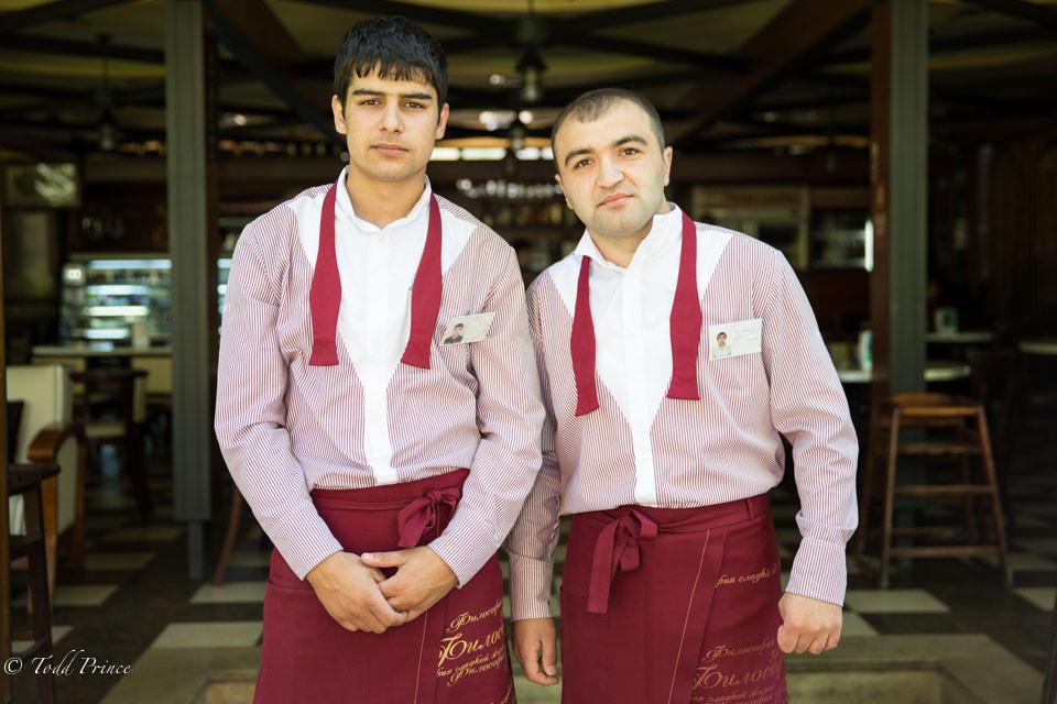 Armenian Cousins: Waiters & Students