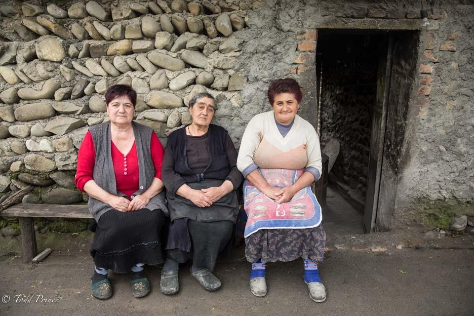 Georgian Village Women
