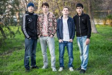 Dagestani teenagers.