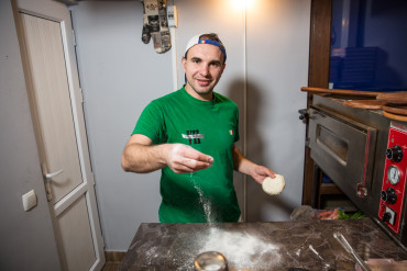 Anton: Tbilisi Pizzeria Owner
