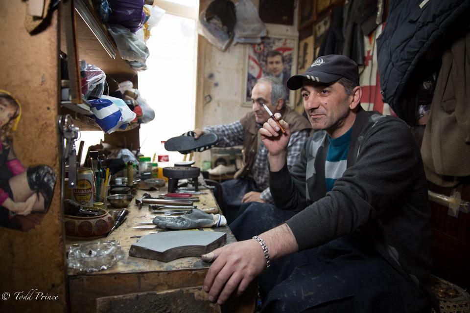 Robert: Batumi Shoe Repairman
