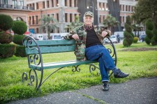 Valerian recalled fishing as a school boy some 75 years ago near the spot he was sitting at.