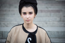 Yulia is a fashion student in Moscow.