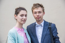 Katya and Andrei have been dating since November, 2014.