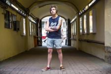 Oleg, 24, was walking down Nevsky Prospect.