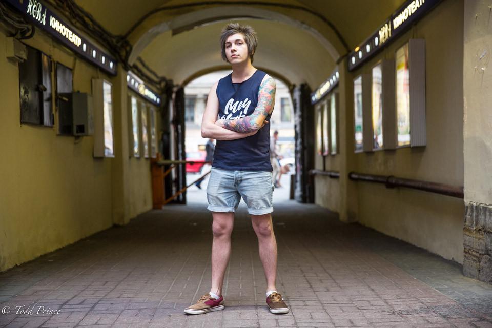 Oleg: St. Petersburg Musician
