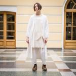 Katya works in theatre in Kiev.
