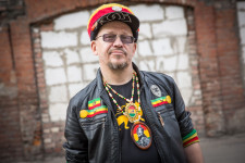 Andrei said reggae was popular in Russia in the 1990s.