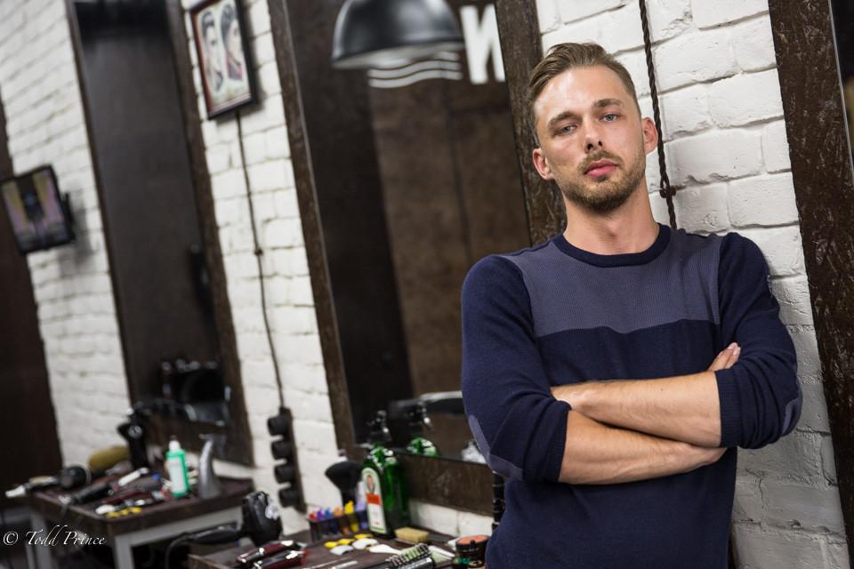 Evgeny: Barbershop Owner Just Married