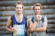 The twins said they grew up in a village outside Nizhny Novgorod.